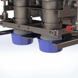 LMB 02 Dispositivo introductor producto en bandejas