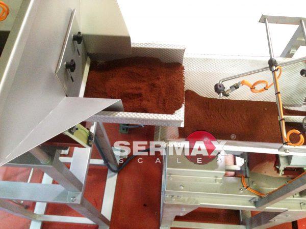 TOLVA FV100 VIBRADORA SERMAX TERCER NIVEL PARA PESADORAS LINEALES
