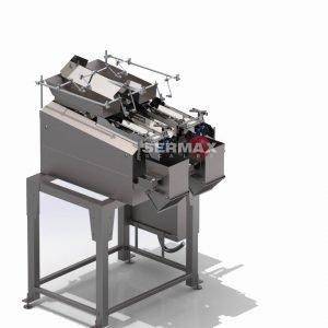 LWG-02 Pesadora Lineal a Vibración / 2 cabezales  / SERMAX®Hasta 20 Kg (14-20 dpm)