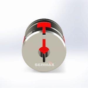Acoplamiento elástico para Motor Paso a Paso LMB  SERMAX®