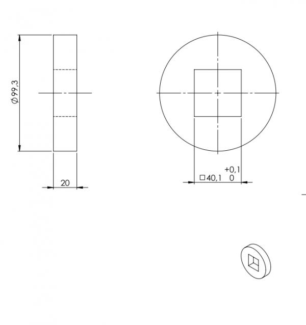 polea soporte compact drive z8 chiorino