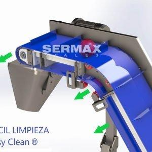 Elevador de producto  SERMAX® Easy Clean FDA
