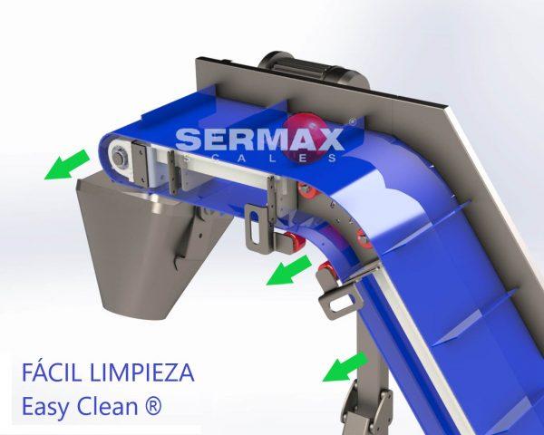DESMONTAJE LIMPIEZA ELEVADOR SERMAX EASY CLEAN