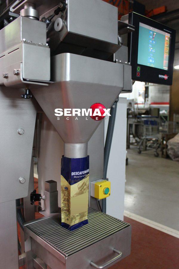 LW01 SERMAX PESADORA LINEAL cafe