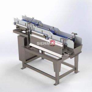 LWB-01 Pesadora Lineal a con cintas transportadoras / 1 cabezal  / SERMAX®Hasta 20 Kg (10-12 dpm)