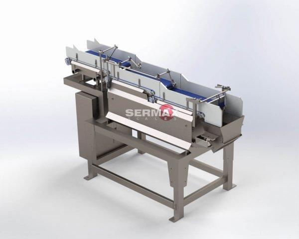 Pesadora lineal con cintas SERMAX